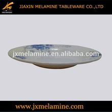 9'' melamine ware wavy soup plate
