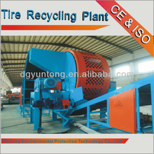 Enviromental Waste Headway Tires Recycling Plant With CE