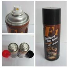 450ml Car Dashboard Spray Wax hot sell Car dashboard spray wax car polish F1