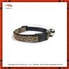 Particular leopard ribbon dog collar