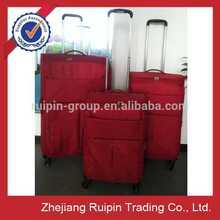 EVA red ultra lightweight luggage