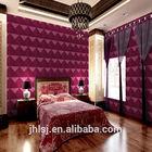 embossed bamboo pulp decorative 3d wallpaper