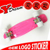 CE EN71 Approved Cheap custom complete skateboards With Mixed Color