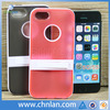 2014 Various colors hybrid pc tpu cute phone cases for iphone 5 5s with stand