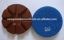 3 inch Dry Concrete metal diamond polishing pad metal bond