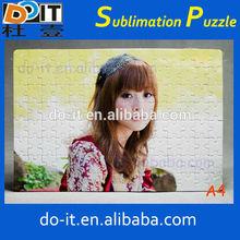 sublimation blanks puzzle,jigsaw puzzle board,sublimation paper puzzle