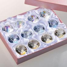 Hot fashion crystal jewelery pendent,crystal diamond anniversary decoration
