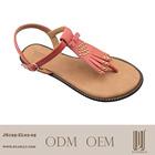 2014 good materials to make flat sandals
