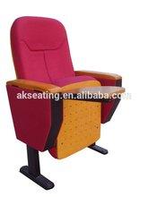 push back audiorium seat