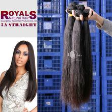 One Donor 100% Unprocessed Virgin Peruvian Straight Hawaiian Hair Pieces