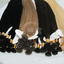 2014 new arrival Brazilian hair pre-bonded i tip human hair extenion