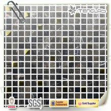 gold mixed irregular nature stone slate mosaic