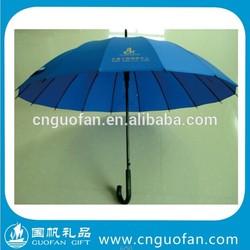 2014 New Design Auto Open UV Protection Umbrella Steel Ribs