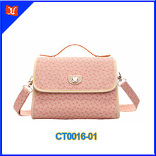 2014 Elegant pvc fashion lady handbags brand