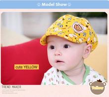 2014 Baby Caps Unisex Cap Cute Baseball Cotton babies sun visor cap hat Wholesale