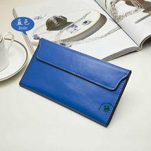 Hot sell good quality blue fashion leather women bag stylish handbag dropship paypal