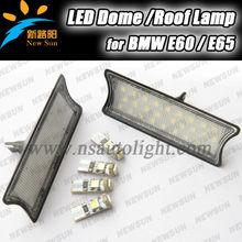 Factory supply wholesale price Car interior light LED roof dome light for BMW E60 E65, 7000K white E60 E65 led dome/roof light