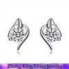 Factory wholesale price Special design earring 925 genuine sterling silver