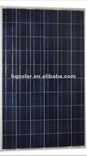 HQ High efficiency250W Poly crystalline silicon solar panel,PV module,for power plant with TUV,CE,ISO,MCS,UL,ROHS