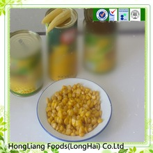 fresh canned whole kernel yellow corn in sweet water