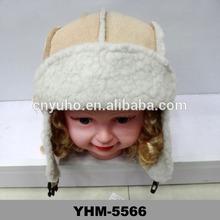 new girls child fur trapper russian cossack ushanka ski hat