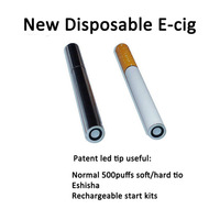 High quality e-cigar fruit flavored disposable e-cigarette wholesales
