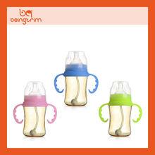 BPA free PPSU baby feeding bottle
