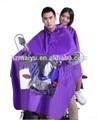 de vinilo resistente al agua con capucha poncho para adultos de montar a caballo impermeable doble scooter