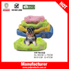 Non slip outdoor pink princess pet bed