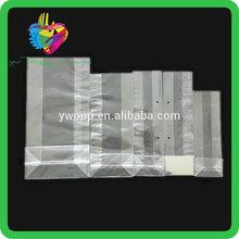 Yiwu China opp custom wholesale square bottom organza bags