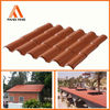 Fangxing construction material roof tile,plastic roof,asa roofing sheet