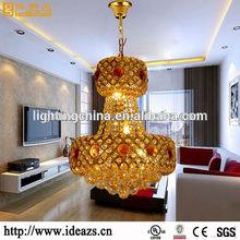 Kristal Crystal Hot sale modern black glass chandelier