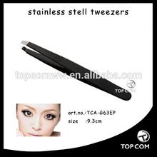 Beauty care stainless steel tweezer/ mini tweezers