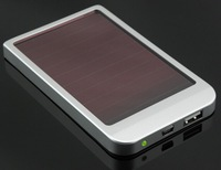 Hot sale thinnest style solar charger 2600mah