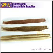Shopping online websites 24inch color 1\4\60 tape in hair extensions 40 pcs