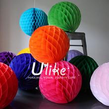 chinese honeycomb tissue ball paper lanterns cheap wedding decorations