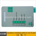 top qualité tactile dôme métallique membran commutateur de circuit imprimé souple pour le clavier