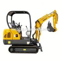 mini largest excavator W218