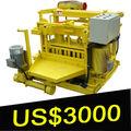bloco de concreto máquina de fazer