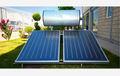 200l kompakte flachbildschirm solarwarmwasserbereiter, Schwarzchrom absorbierenden mantel