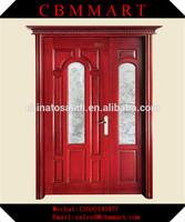 G-5027 solid wood hemlock exterior doors