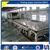 GMK-3200MM Full line waste paper, wood pulp board recycling kraft, fluting paper roll making machinery, 70-80 T/D, 3200mm