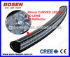 "54"" curved LED light bar ,300w cree bowed bar for tractor, forklift, off-road, ATV, Excavator, Heavy duty equipment,3D reflector"
