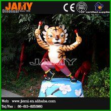 Outdoor Decor Cartoon Tiger Statue