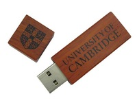 Classic and Natural Wood USB memory drive, Flash usb wooden customized for University
