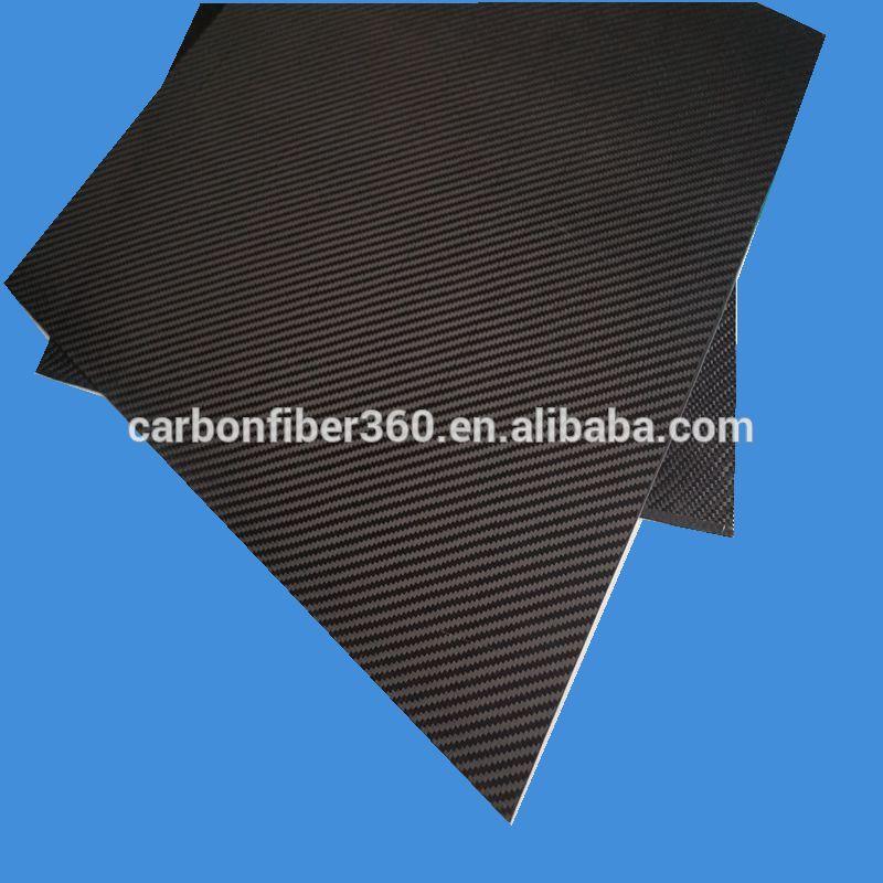 400mm*500mm karbon fiber lamine levha fiber karbon