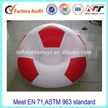 football inflatable sofa/ air chair