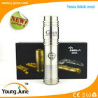 alibaba co uk New arrival patented products colorful Tesla GAIA mod & copper mech mod ecig wholesale