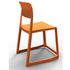 multipurpose custom made colorful plastic chair used (SP-UC383)