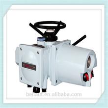 Multi-turn electronic heating valve actuator for gate valve